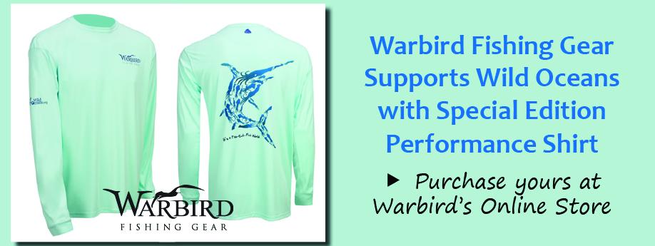 Warbird/Wild Oceans Partner Shirt